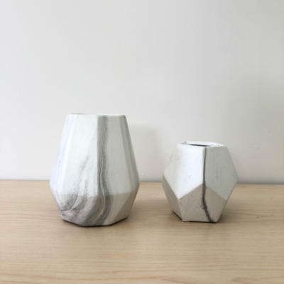 Cosmo and Astrid Vases together - Major and Minor - Wedding and Event Hire - Wanaka Hire