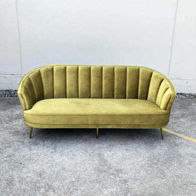 Hudson Velvet Couch - Wanaka Wedding Hire - Wanaka Wedding and Events - Queenstown Furniture
