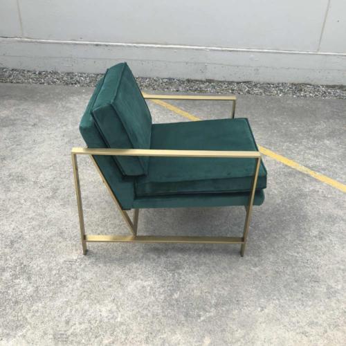 Lola Velvet Chair side - Wanaka Wedding Hire - Wanaka Wedding and Events - Queenstown Furniture