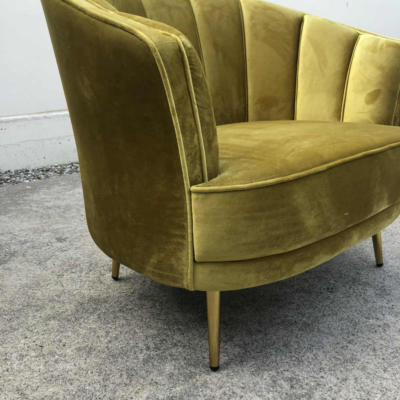 Meila Velvet Chair Close up - Wanaka Wedding Hire - Wanaka Wedding and Events - Queenstown Furniture