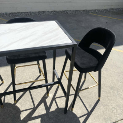 Melbourne Bar Leaner with chairs - Wanaka Wedding Hire - Queenstown Wedding Hire - Event Furniture