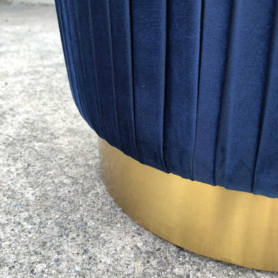 Ritz Ottoman Blue - Base - Wanaka Wedding Hire - Wanaka Wedding and Events - Queenstown Furniture