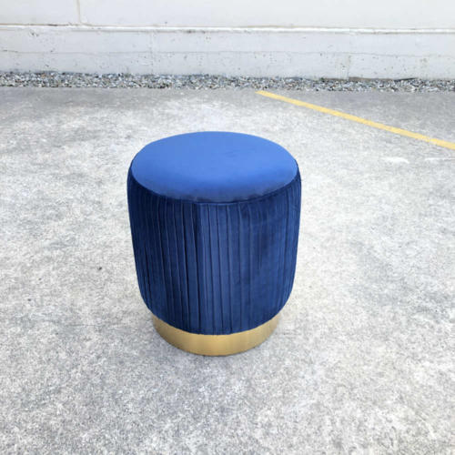 Ritz Ottoman Blue - Wanaka Wedding Hire - Wanaka Wedding and Events - Queenstown Furniture
