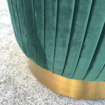Ritz Ottoman Emerald - Bottom - Wanaka Wedding Hire - Queenstown Wedding Hire - Event Furniture