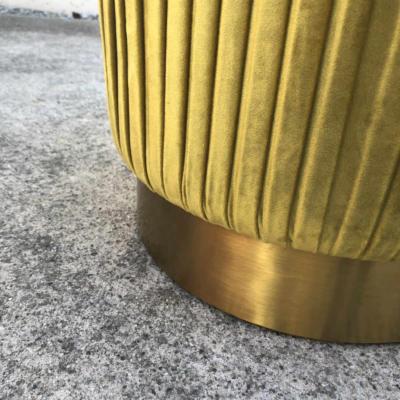 Ritz Ottoman Gold - Bottom - Wanaka Wedding Hire - Queenstown Wedding Hire - Event Furniture
