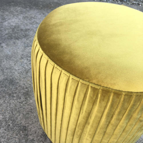 Ritz Ottoman Gold - Close up - Wanaka Wedding Hire - Queenstown Wedding Hire - Event Furniture