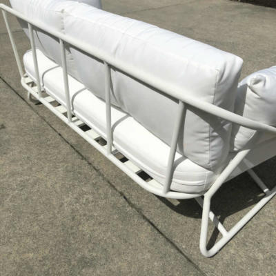 White Outdoor Couch - Back - Wanaka Wedding Hire - Queenstown Wedding Hire - Event Furniture