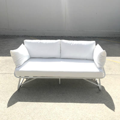 White Outdoor Couch - Wanaka Wedding Hire - Queenstown Wedding Hire - Event Furniture