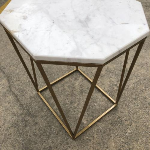 Marble Side Table | Top | Wedding and Event Hire | Wanaka and Queenstown Hire