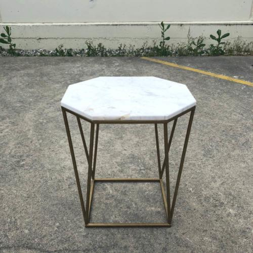 Marble Side Table | Wedding and Event Hire | Wanaka and Queenstown Hire