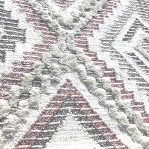 Pink Aztec Rug | Close up | Wedding and Event Hire | Wanaka and Queenstown Hire
