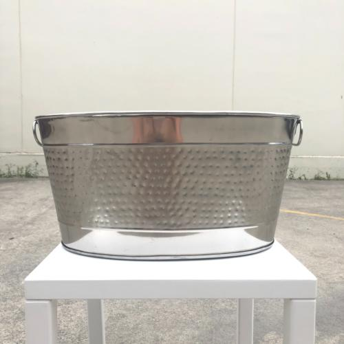 Silver Drinks Tub | Wedding and Event Hire | Wanaka and Queenstown Hire
