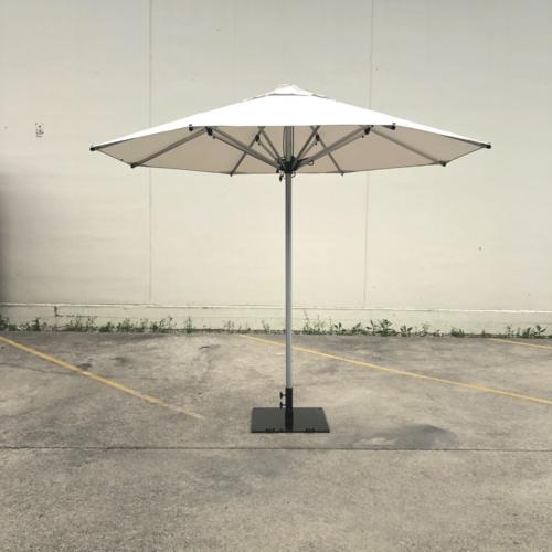 White Outdoor Umbrella | Wedding and Event Hire | Wanaka and Queenstown Hire