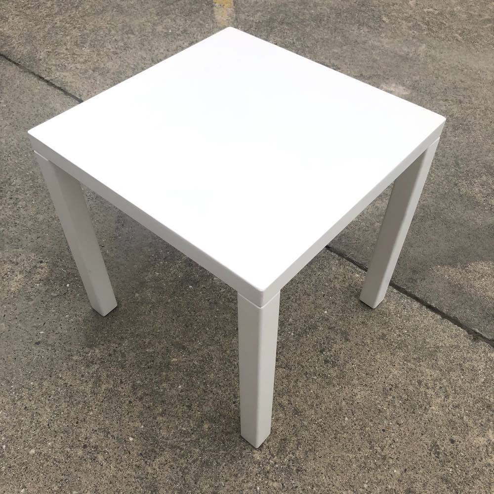 White Side Table | Top | Wedding and Event Hire | Wanaka and Queenstown Hire