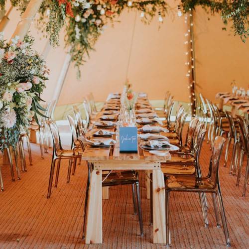 Acrylic Chair Coffee _ Styled _ Wanaka Wedding Hire _ Queenstown Wedding Hire _ Major and Minor