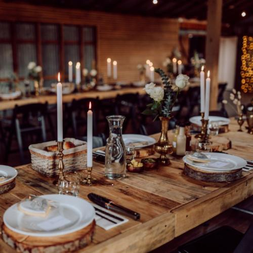 Brass Candlesticks _ Wanaka Wedding Hire _ Queenstown Wedding Hire _ Major and Minor