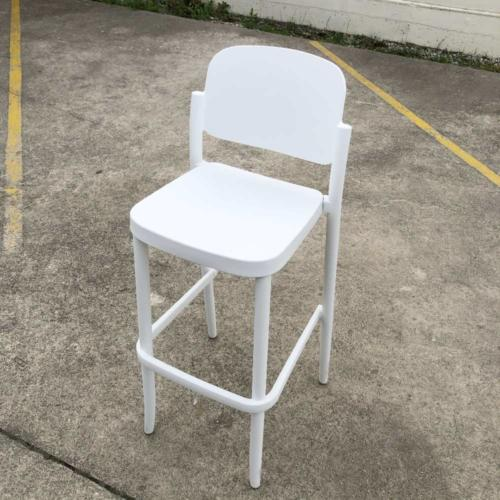 Evie Barstool _ White Barstool _ Bar Furniture Hire _ Wanaka Queenstown Event Wedding Hire _ Major and Minor Hire