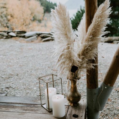 Glass Brass Lantern _ Styled _ Wanaka Wedding Hire _ Queenstown Wedding Hire _ Major and Minor