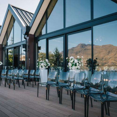 Smokey Acylic chair _ Kamana Lakehouse _ Styled _ Wanaka Wedding Hire _ Queenstown Event Hire